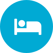 Icon of person sleeping