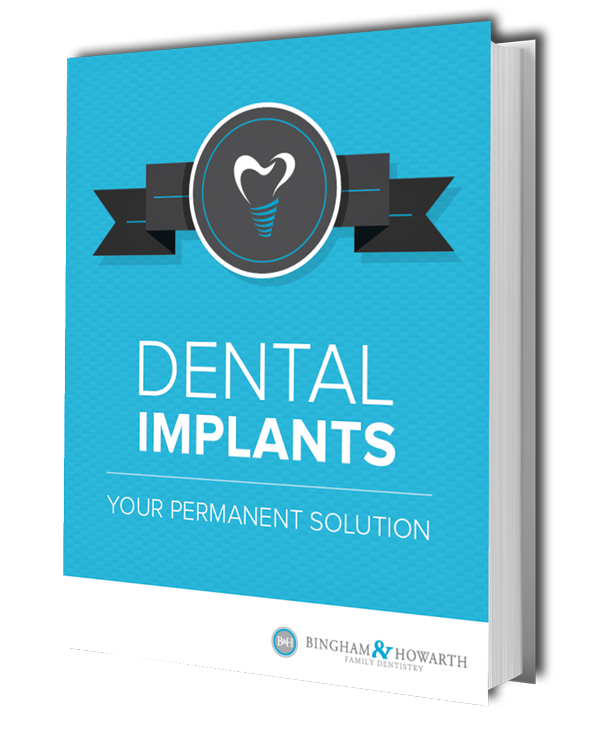 Preview of our a FREE eBook from our Tulsa OK dentist titled Dental Implants: Your Permanent Solution